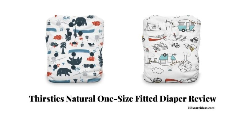 Thirsties Natural One-Size Fitted Diaper Review